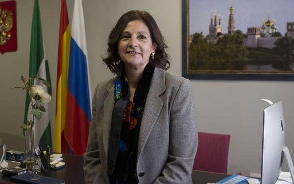 Esther Morell, cónsul honoraria de la federación rusa